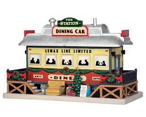 Lemax Village Collection The Station Dining Car # 55975