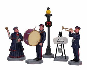 Lemax Village Collection Christmas Band Set of 5 # 62323