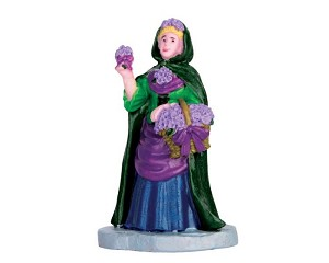 Lemax Village Collection Violet Vendor # 62452