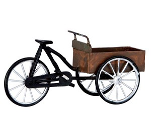 Lemax Village Collection Carry Bike # 64068