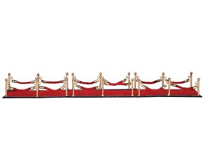 Lemax Village Collection Red Carpet Set of 7 # 64070