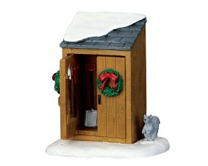 Lemax Village Collection Utility Shed # 64072