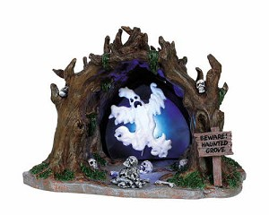 Lemax Spooky Town Haunted Grove # 64423
