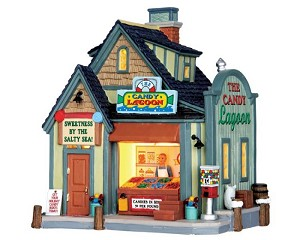 Lemax Village Collection The Candy Lagoon # 65091