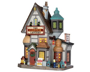**NO OUTER BOX** Lemax Village Collection The Copper Lantern # 65103 **READ DESCRIPTION**