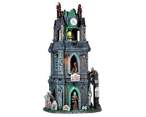 Lemax Spooky Town The Bloody Belfry with Adaptor # 65121