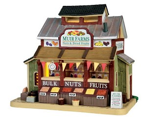 Lemax Village Collection Muir Farms, Nuts & Dried Fruits # 65127