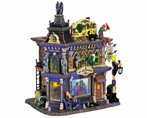 Lemax Spooky Town Zombie's Cafe with Adaptor # 65346