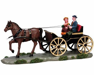Lemax Village Collection Carriage For Two # 73632