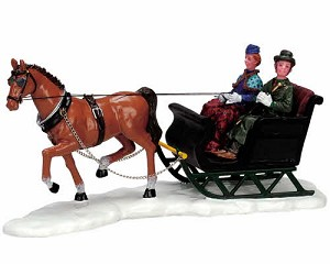 Lemax Village Collection Scenic Sleighride # 73633