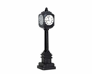 Lemax Village Collection Street Clock # 74634