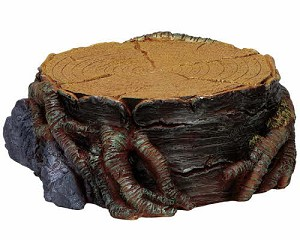 Lemax Spooky Town Tree Stump Display Platform Small # 74637