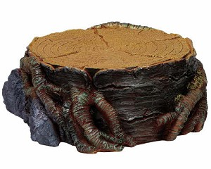 Lemax Village Collection Tree Stump Display Platform Small # 74699