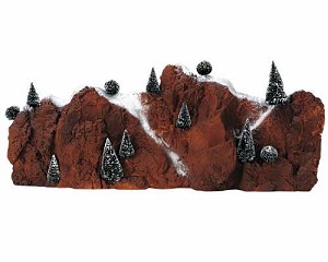 Lemax Village Collection Large Village Mountain Backdrop # 81011