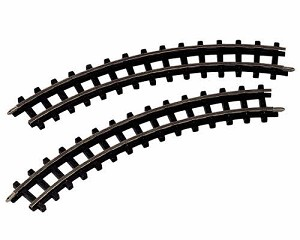Lemax Village Collection Curved Railway Tracks 2 Pieces # 84262