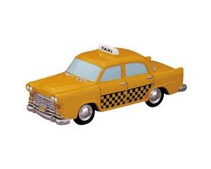 Lemax Village Collection Taxi Cab # 84832
