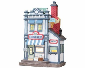 Lemax Village Collection Pearl's Ice Cream Parlor # 85658