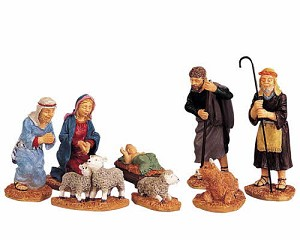 Lemax Village Collection Nativity Figurines Set of 8 # 92351