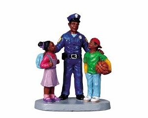Lemax Village Collection To Protect and Serve # 92626