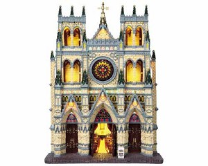 Lemax Village Collection St. Patrick's Cathedral Facade # 95916